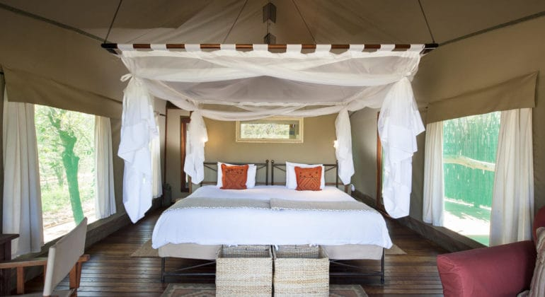 Ongava Tented Camp Bedroom