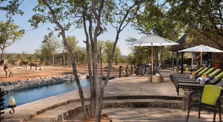 Ongava Tented Camp Poolside