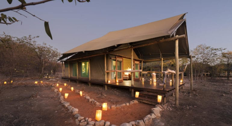 Ongava Tented Camp Tent
