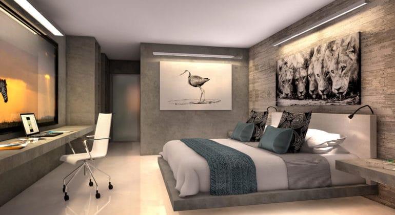 Pangolin Chobe Lodge Bedroom