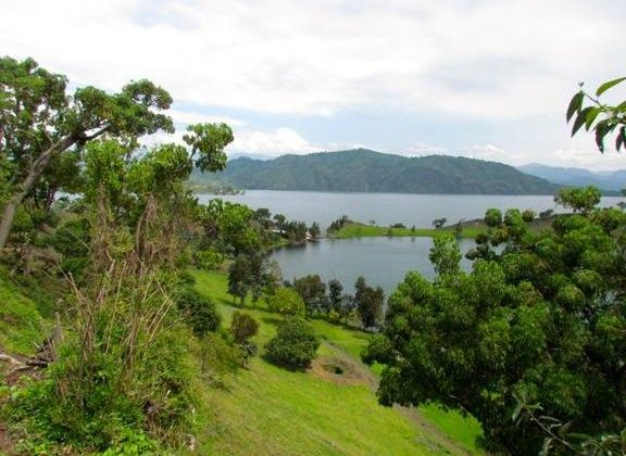 Tchegera Island Camp View 1