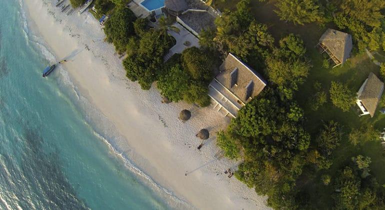 The Manta Aerial View