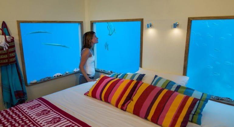 The Manta Underwater Room Interiors