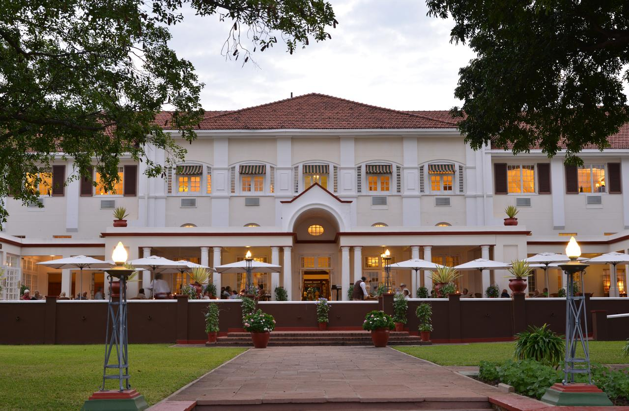 The Victoria Falls Hotel Front View