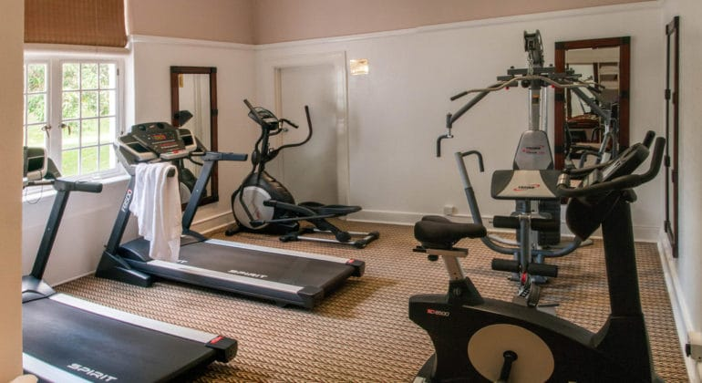 The Victoria Falls Hotel Gym
