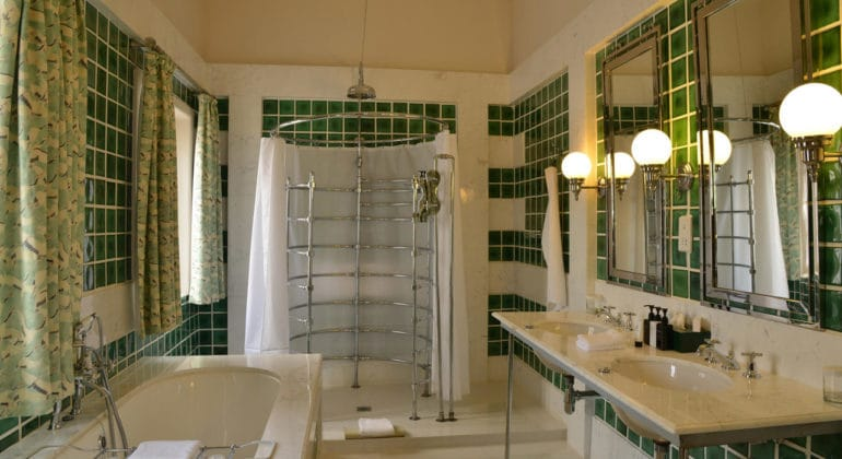 The Victoria Falls Hotel Suite Bathroom