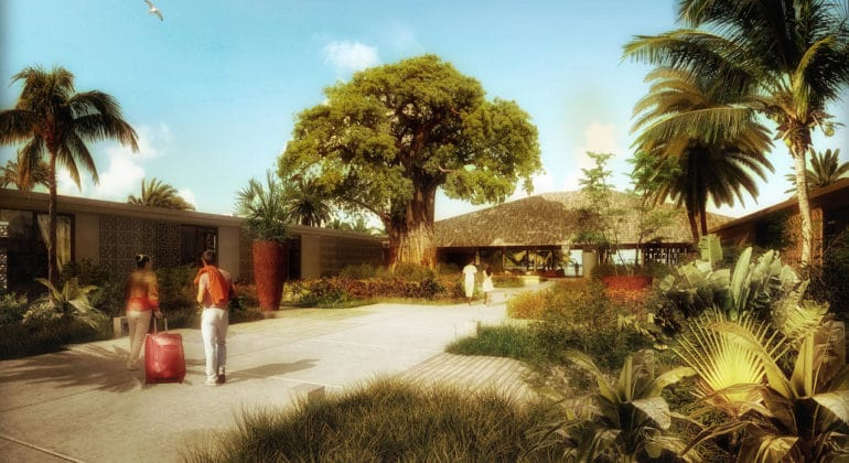 Zuri Zanzibar Hotel & Resort Entrance