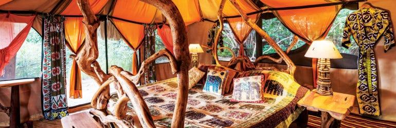 Elephant Watch Camp Tent