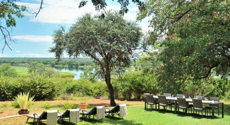 Imbabala Safari Lodge Outdoor Dining