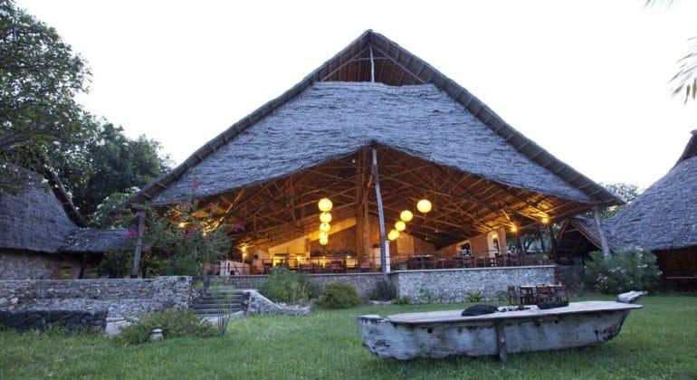 Mafia Island Lodge Restaurant