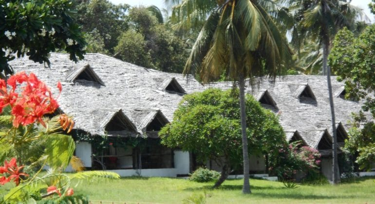 Mafia Island Lodge View From Garden