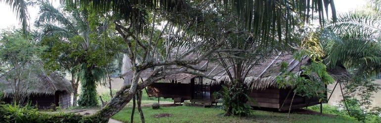 Sangha Lodge Entrance