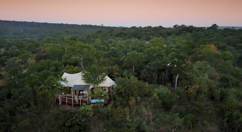 The Elephant Camp View