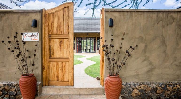 Lemala Kili Villas Entrance