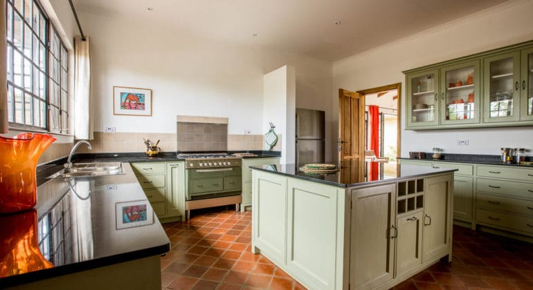 Lemala Kili Villas Kitchen