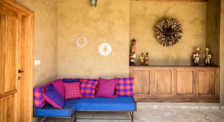 Lemala Kili Villas Sitting Area