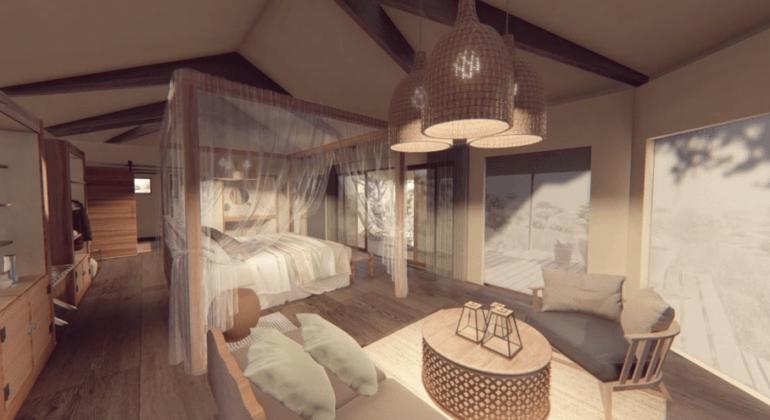 Lemala Mpingo Ridge Bedroom 1