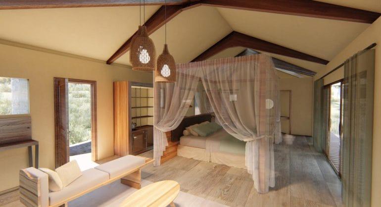Lemala Mpingo Ridge Bedroom