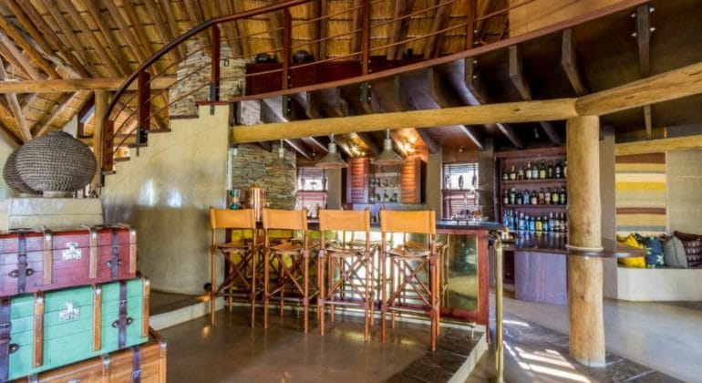 Makanyi Private Game Lodge Bar