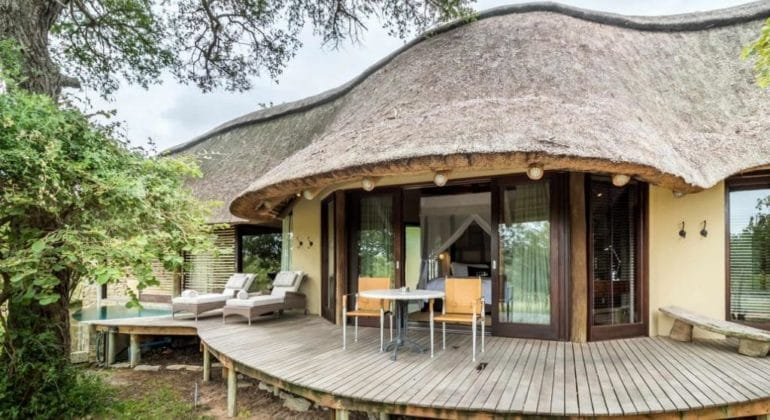 Makanyi Private Game Lodge Deck