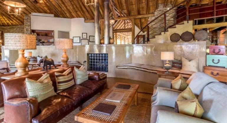 Makanyi Private Game Lodge Main Area