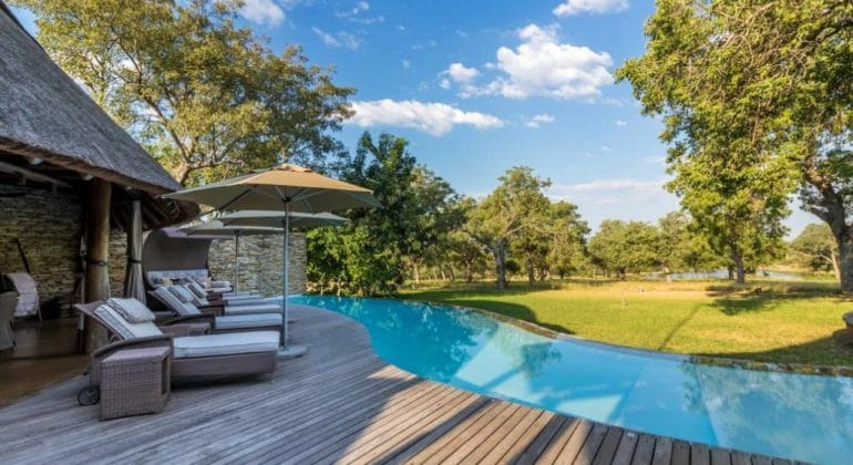 Makanyi Private Game Lodge Pool