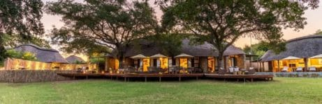 Makanyi Private Game Lodge View