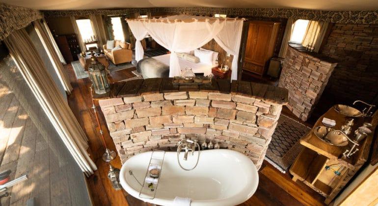 Mpala Jena Camp Bathroom