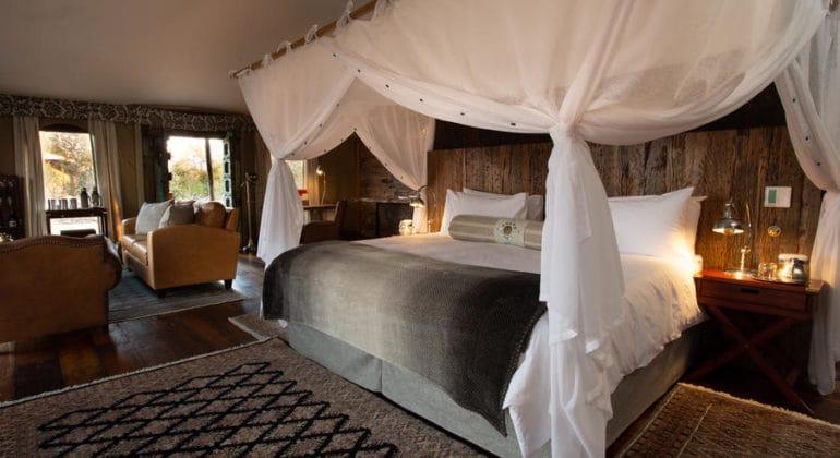 Mpala Jena Camp Bedroom