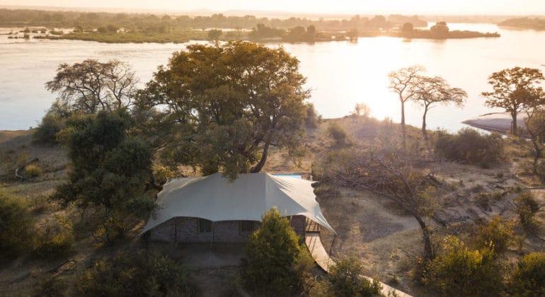 Mpala Jena Camp View