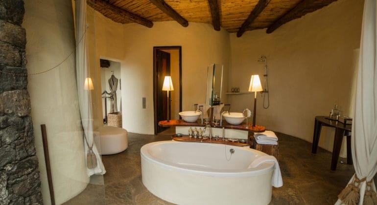 Ol Donyo Lodge Bathroom