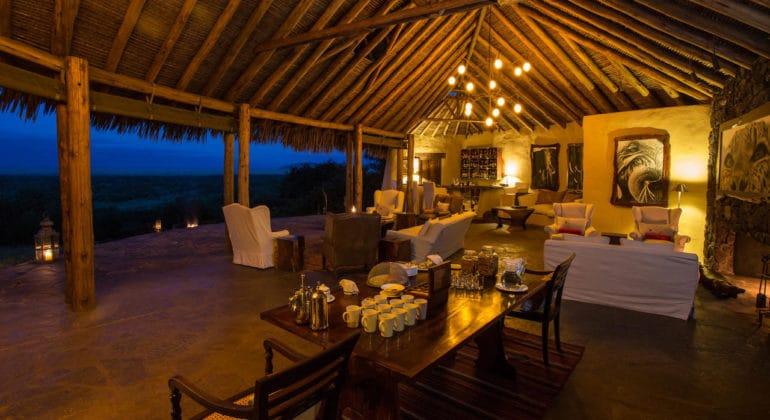 Ol Donyo Lodge Lounge