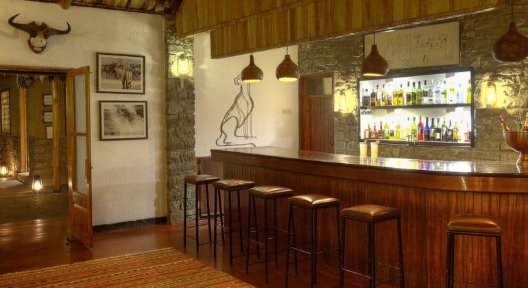 Ndutu Safari Lodge Bar 1