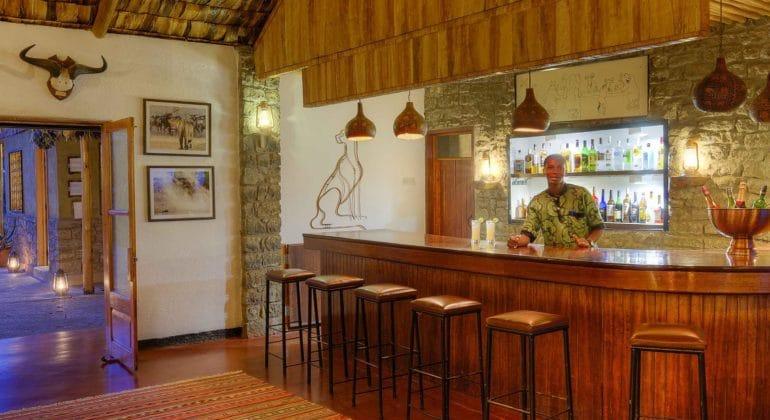 Ndutu Safari Lodge Bar