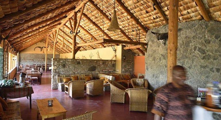 Ndutu Safari Lodge Main Area