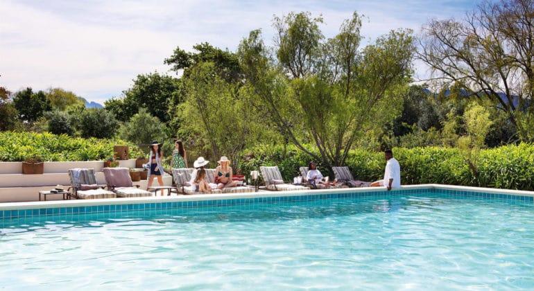 Spier Hotel Swimming Pool