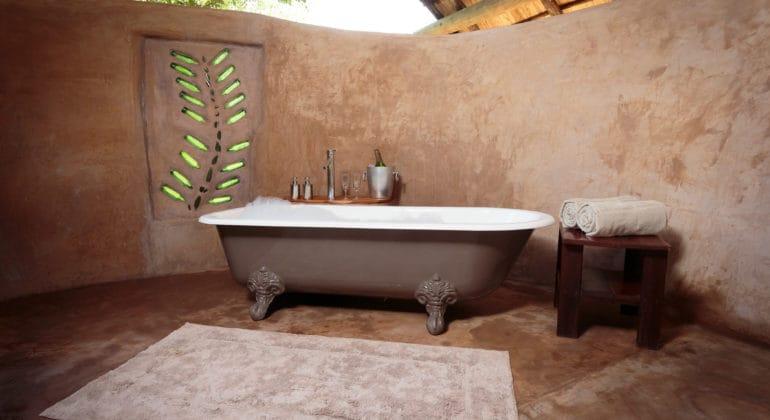 Flatdogs Tent And Chalets Bathroom