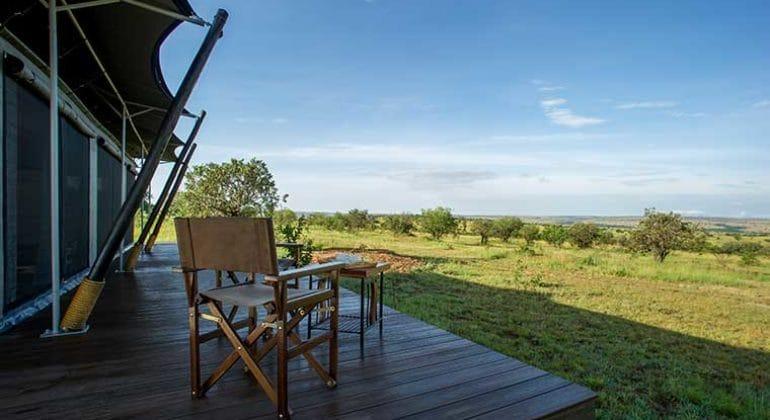 Mara Mara Tented Lodge Deck