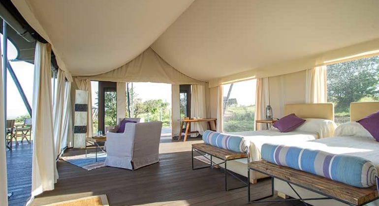 Mara Mara Tented Lodge Room 1