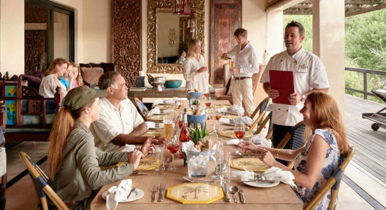 Royal Malewane Dining