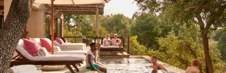 Royal Malewane Poolside