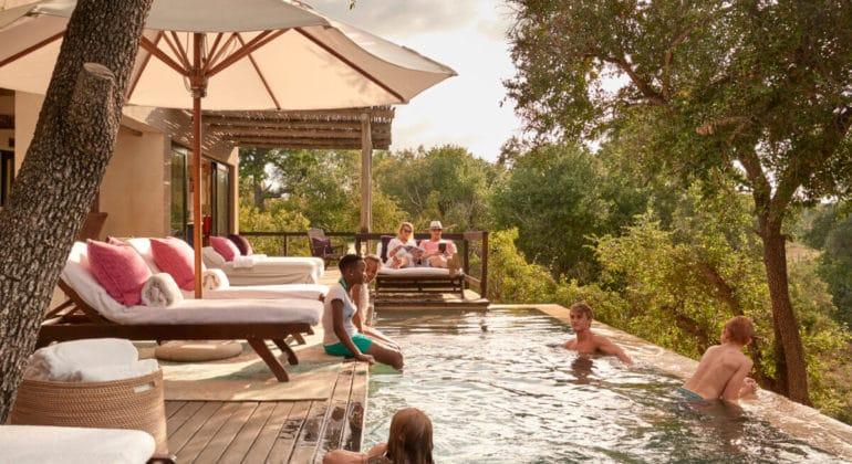 Royal Malewane Poolside