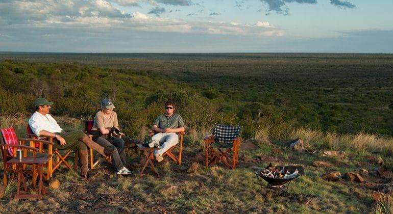 Sosian Lodge Fly Camping