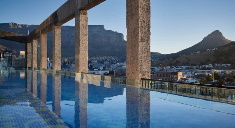 The Silo Rooftop Pool