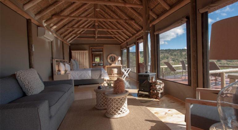 Amakhala Bukela Game Lodge Lounge