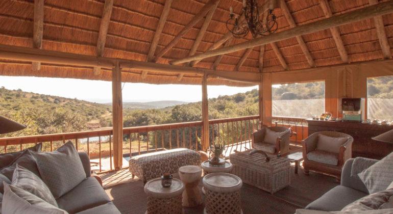 Amakhala Bukela Game Lodge Sitting Deck