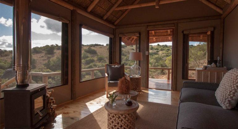 Amakhala Bukela Game Lodge Tent Lounge