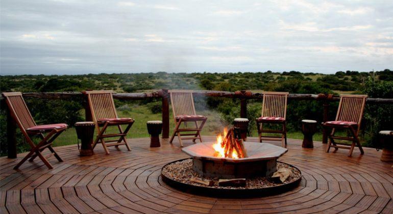 Amakhala Bush Lodge Campfire