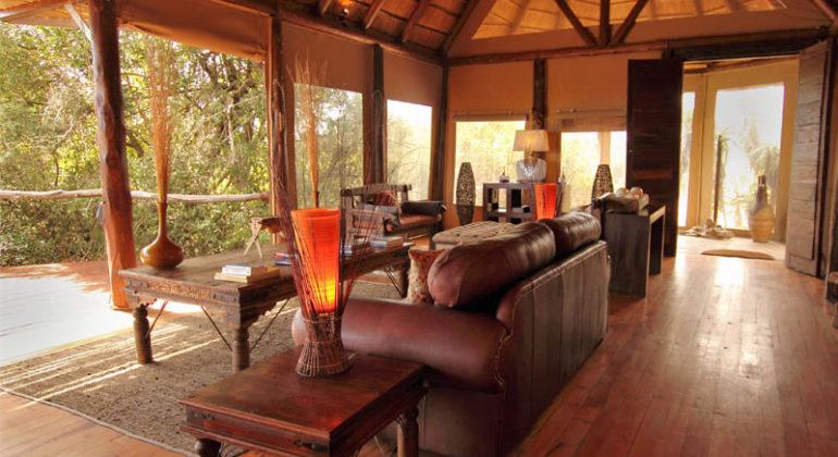 Amakhala Bush Lodge Sitting Area