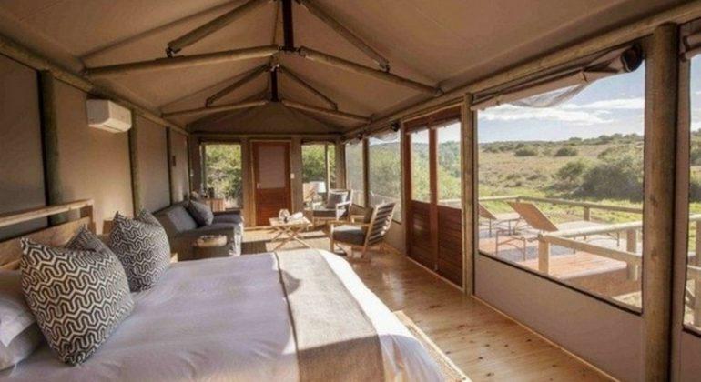 Amakhala Hlosi Game Lodge Tent